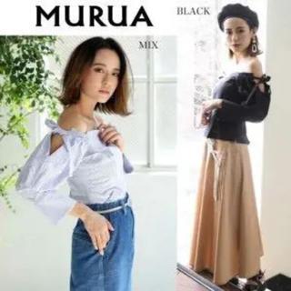 MURUA - 未使用 MURUA  オフショルダー