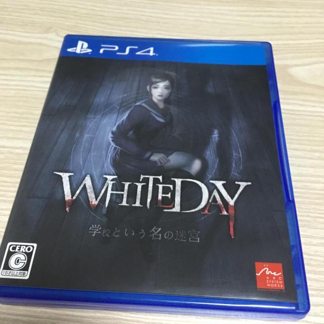 PlayStation4(プレイステーション4)のps4 ソフトホワイトデー エンタメ/ホビーのゲームソフト/ゲーム機本体(家庭用ゲームソフト)の商品写真