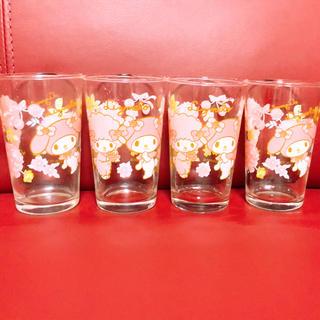 リズリサ(LIZ LISA)のリズリサ マイメロ リズメロ グラス コップ(グラス/カップ)