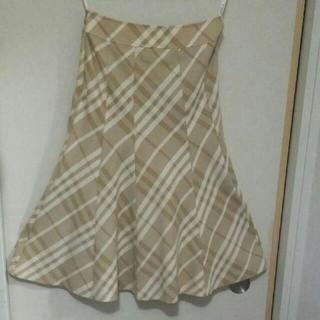 バーバリー(BURBERRY)のバーバリー フレアスカート burberry(ひざ丈スカート)