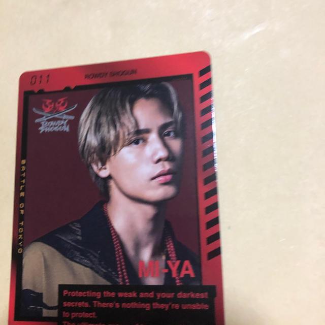 THE RAMPAGE 神谷健太 カード エンタメ/ホビーのタレントグッズ(ミュージシャン)の商品写真