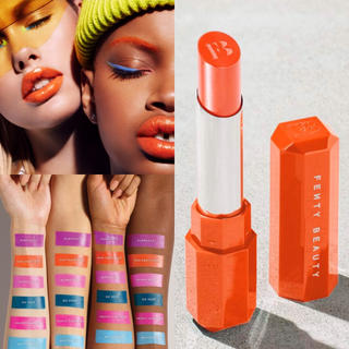 Sephora - 5/10発売《即発送可能》弾けるオレンジ!フェンティビューティリップスティック