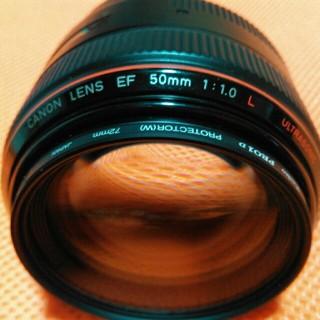Canon - CANON EF 50mm f 1.0 L USM