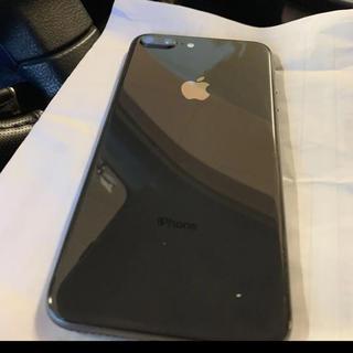 アップル(Apple)のiPhone8plus(携帯電話本体)