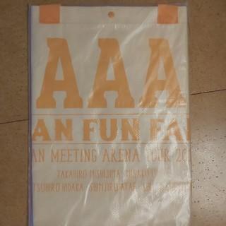 AAA FAN FAN FANクリアポケット付きテイクアウトバッグ(クリアファイル)