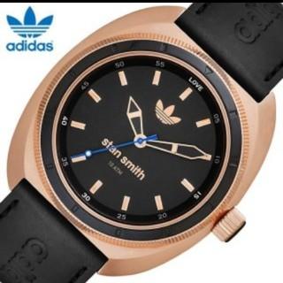 アディダス(adidas)の【美品】アディダス スタンスミス 腕時計 ADH3083 ローズゴールド(腕時計)