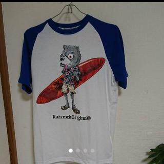 カズロックオリジナル(KAZZROCK ORIGINAL)のカズロック☆ウルフ ベースボールTシャツ(Tシャツ/カットソー(半袖/袖なし))