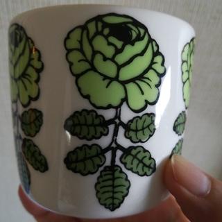 マリメッコ(marimekko)のmarimekkoラテマグ(グラス/カップ)
