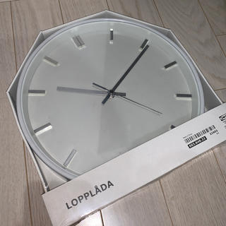 イケア(IKEA)のIKEA 時計 白 シンプル(掛時計/柱時計)