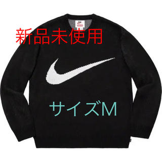 シュプリーム(Supreme)の新品Supreme Nike Swoosh Sweater 19ss black(ニット/セーター)