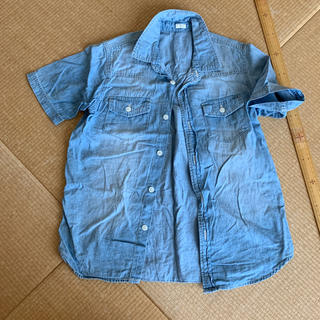 GU - デニムシャツ140