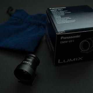 パナソニック(Panasonic)の外付けファインダー 24mm lumix dmw-vf1(その他)