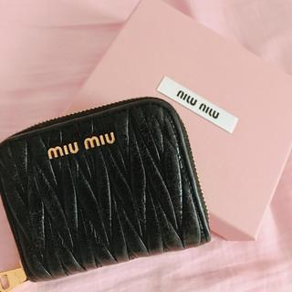 miumiu - ミュウミュウ 財布 コインケース!美品!