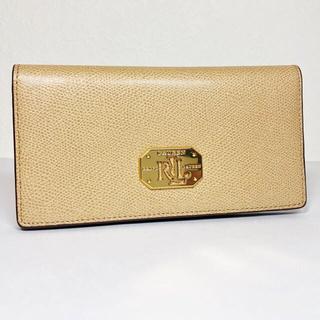 ラルフローレン(Ralph Lauren)の新品同様☆ラルフローレン【RLL】レザー2折パス付長財布(財布)