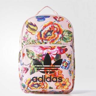 adidas - アディダス 花柄 リュック