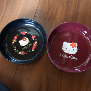 ハローキティ(ハローキティ)のサンリオ キティ おぼん トレー(食器)