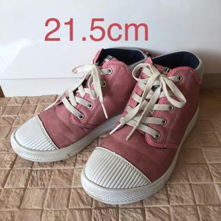 ムーンスター(MOONSTAR )の♡21.5cm♡ レインシューズ ムーンスター アップルワンピース (長靴/レインシューズ)