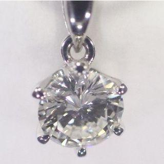 デビアス(DE BEERS)の大粒 0.535ct💎天然ダイヤモンド PT800 ペンダントトップ 本物(ネックレス)