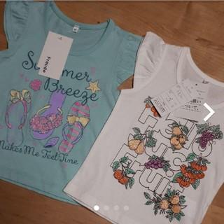 シマムラ(しまむら)のFREUDE しまむら Tシャツ90 新品未使用(Tシャツ/カットソー)