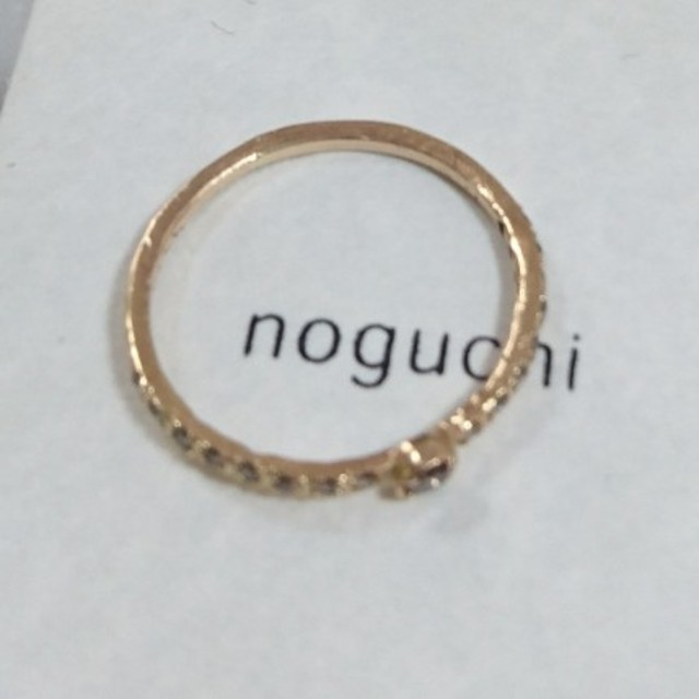 H.P.FRANCE(アッシュペーフランス)のnoguchi ノグチ ブラウンダイヤリング レディースのアクセサリー(リング(指輪))の商品写真
