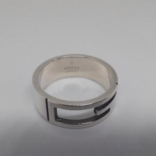 グッチ(Gucci)の23号表記 GUCCI Gリング ブランデッド リング 指輪(リング(指輪))