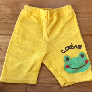 ニシマツヤ(西松屋)のカエル半ズボン(パンツ/スパッツ)