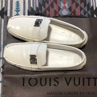 fb89fc075b7d0b ルイヴィトン(LOUIS VUITTON)のルイヴィトン ドライビングシューズ 35(ローファー/革靴