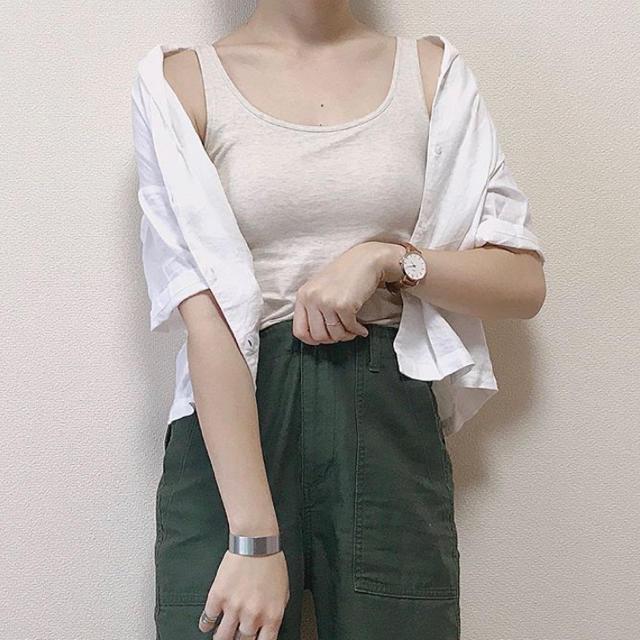 GU(ジーユー)の専用 レディースのトップス(シャツ/ブラウス(半袖/袖なし))の商品写真