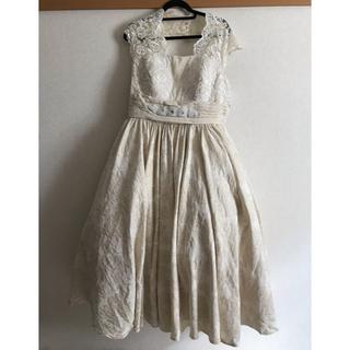 ウエディングドレス/大きいサイズ/白(ウェディングドレス)
