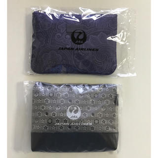 ジャル(ニホンコウクウ)(JAL(日本航空))のJAL 国際線ビジネスクラス アメニティ、エトロ&谷村美術織物 2個セット(旅行用品)