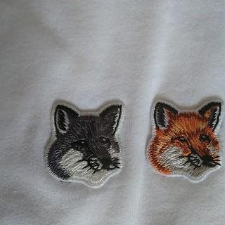 メゾンキツネ(MAISON KITSUNE')のsaki様専用 XSダブルヘッドパッチ(Tシャツ/カットソー(半袖/袖なし))