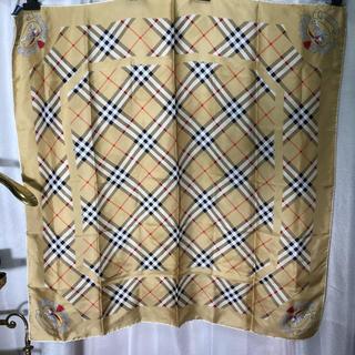 バーバリー(BURBERRY)のBURBERRY バーバリー ノバチェック スカーフ 正規品(バンダナ/スカーフ)