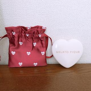 ジェラートピケ(gelato pique)のジェラートピケハート型印鑑入れ♥2000→1100円(印鑑/スタンプ/朱肉)