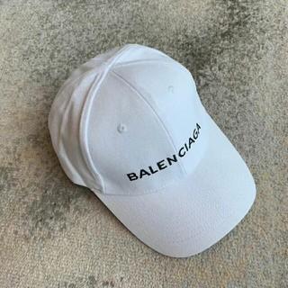 Balenciaga - Balenciaga キャップ ホワイト