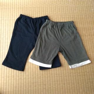 ニシマツヤ(西松屋)のハーフパンツ 95サイズ 2枚セット(パンツ/スパッツ)