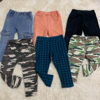 ブリーズ(BREEZE)のサイズ80〜95 保育園 ズボン 洗い替え まとめ売りセット 男の子 女の子(パンツ)