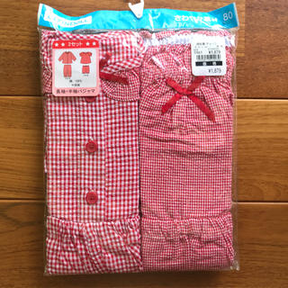 ニシマツヤ(西松屋)の女の子 パジャマ 80(パジャマ)