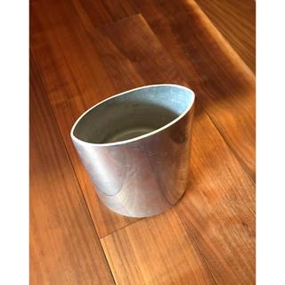 イケア(IKEA)の1回使用のみ IKEA おしゃれな花瓶 シルバー(花瓶)