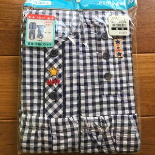 ニシマツヤ(西松屋)の男の子 半袖パジャマ 長袖パジャマ 80(パジャマ)