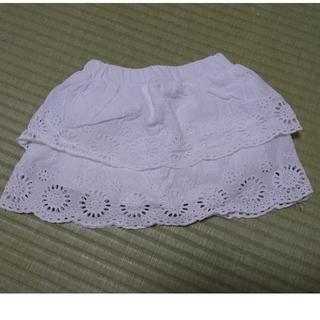 プティマイン(petit main)のスカート風ショートパンツ 80 プティマイン(スカート)