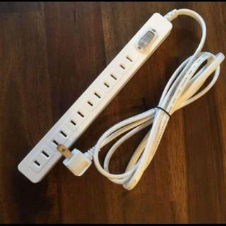 IKEA - 【新品/送料込み】イケア 電源タップ ホワイト 6口