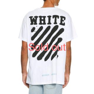 オフホワイト(OFF-WHITE)のOff-White Spray-Paint Logo T-Shirt(Tシャツ/カットソー(半袖/袖なし))