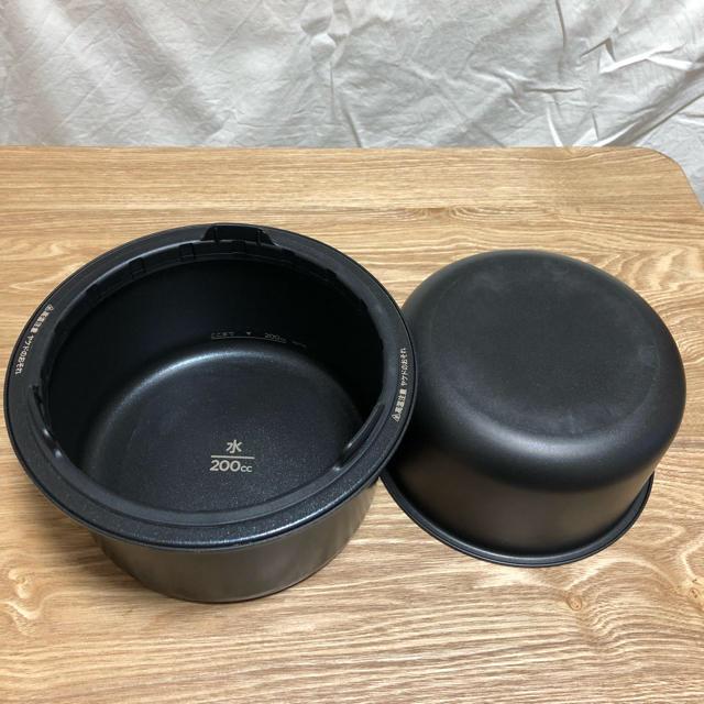 BALMUDA(バルミューダ)のBALMUDA The Gohan 炊飯器 スマホ/家電/カメラの調理家電(炊飯器)の商品写真