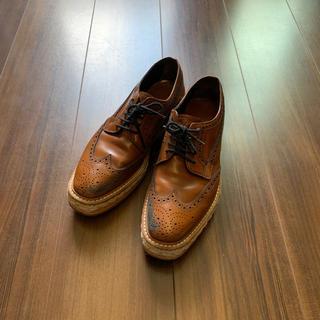 プラダ(PRADA)のPRADAプラダエスパドリーユシューズドレスシューズ361/2(ローファー/革靴)