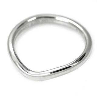 ティファニー(Tiffany & Co.)のティファニーPt950カーブドバンドリング(リング(指輪))