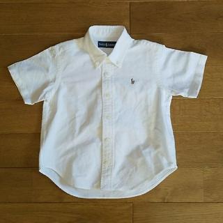 ラルフローレン(Ralph Lauren)のラルフローレン ボタンダウンシャツ 100cm(ブラウス)