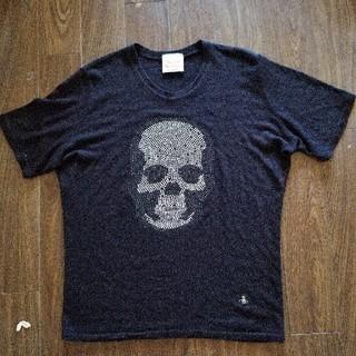 ヴィヴィアンウエストウッド(Vivienne Westwood)のVivienneWestwood薄手ニットTシャツ(Tシャツ(半袖/袖なし))