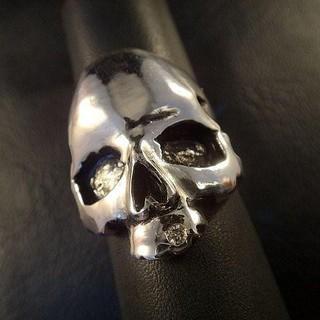 "Skull""スカル"" リング Silver 925 Diamond(リング(指輪))"