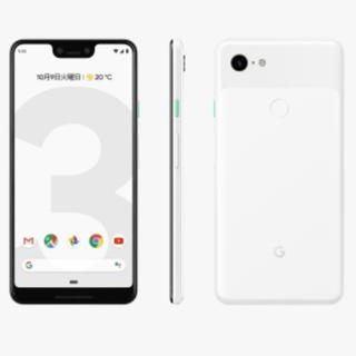 アンドロイド(ANDROID)のGoogle pixel3 64GB clearly white(スマートフォン本体)