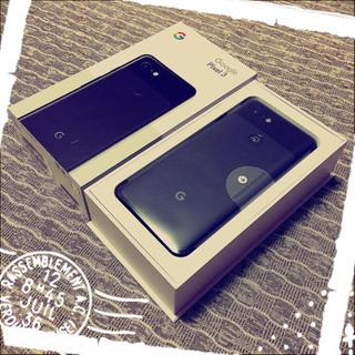 アンドロイド(ANDROID)の【新品・未使用】Google pixel3 64GB/ブラック■ simフリー(スマートフォン本体)